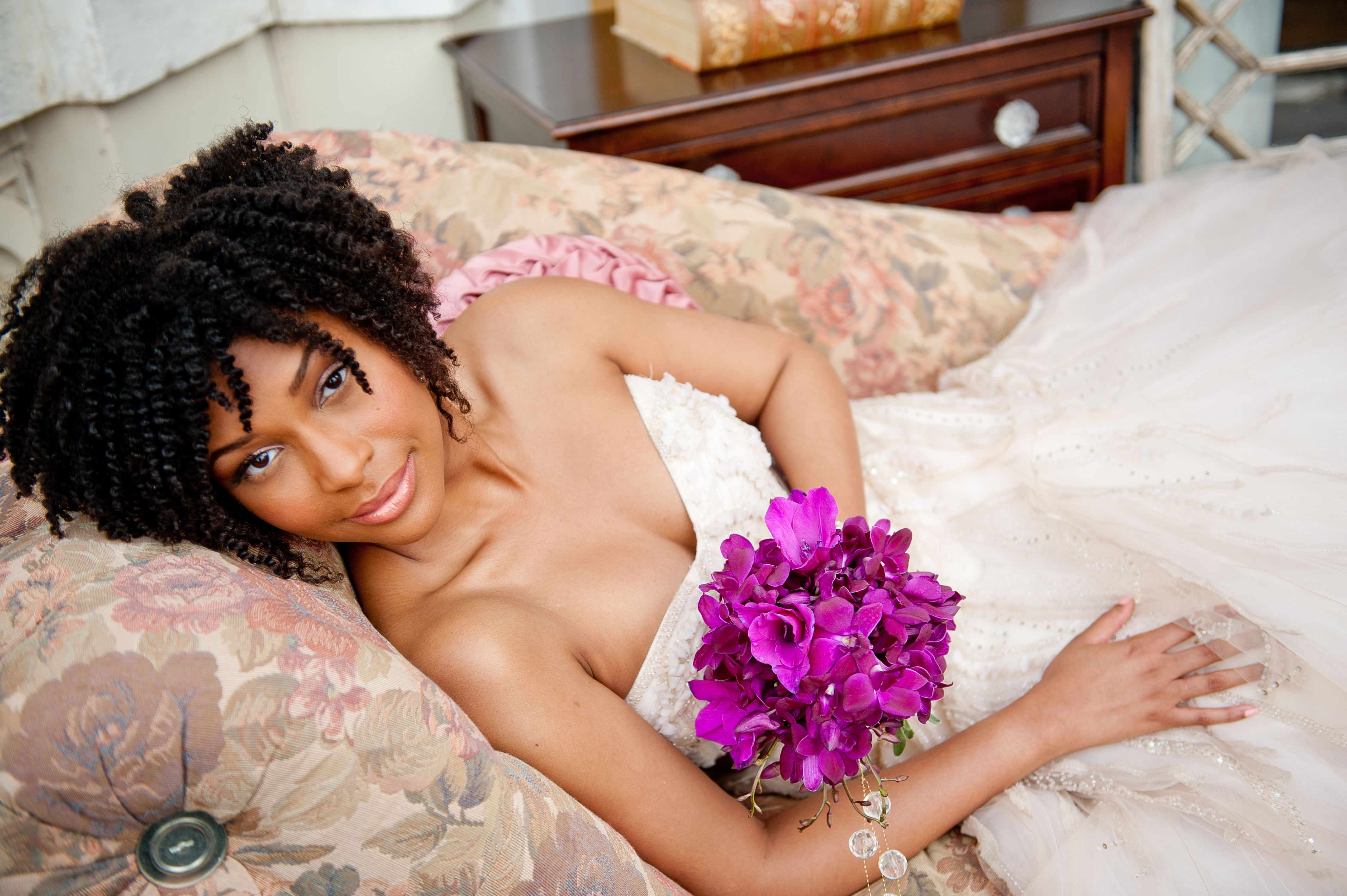 Excellent 1000 Images About Natural Hair Wedding Liz On Pinterest Short Hairstyles For Black Women Fulllsitofus
