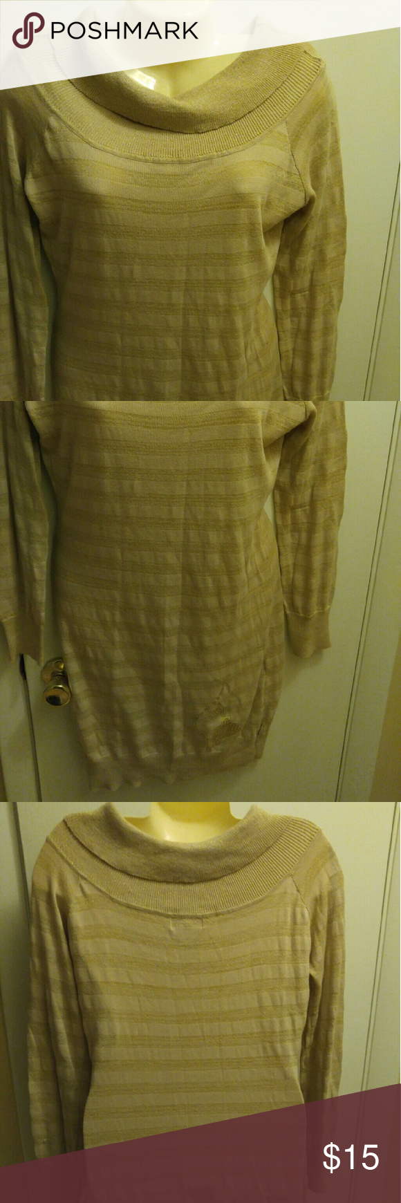Baby Phat Gold Dress Large | D, Tops and Babies