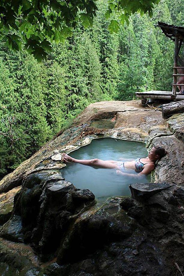 Hot springs, USA (Oregon)/Горячие источники, США (Орегон) | Oregon travel, Places to travel