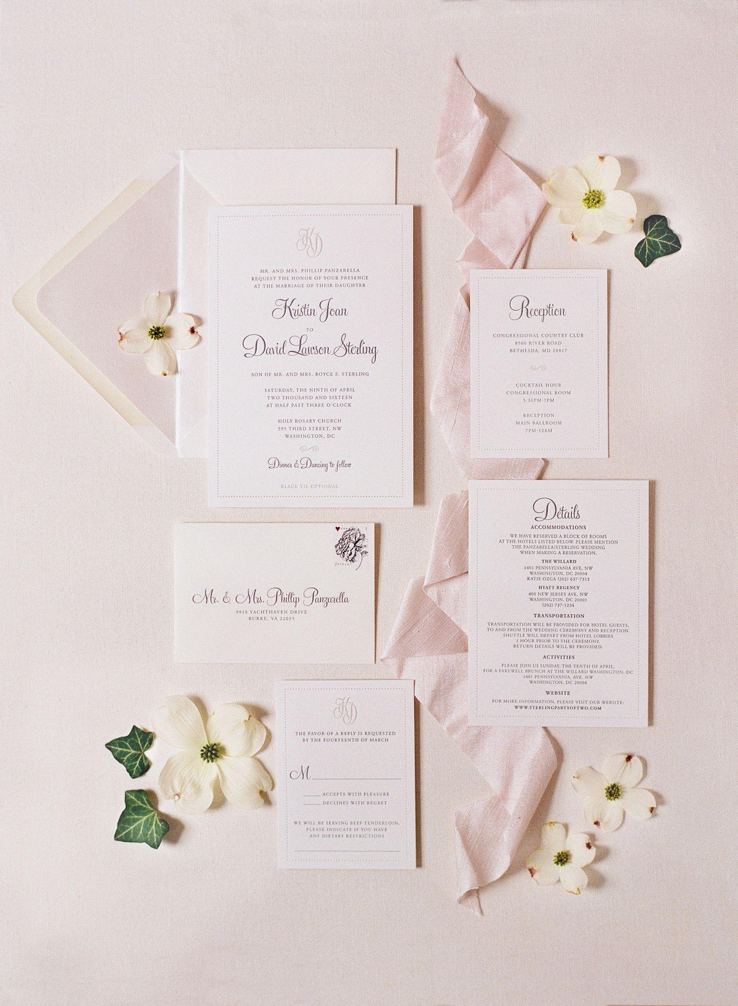 fine art letterpress wedding suite   Wedding!!!   Pinterest   Black ...