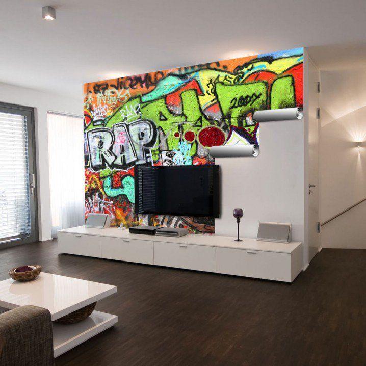18 Gorgeous Graffiti Wall Interior Inspirations Godfather Style Graffiti Wall Wall Design Graffiti Wall Art