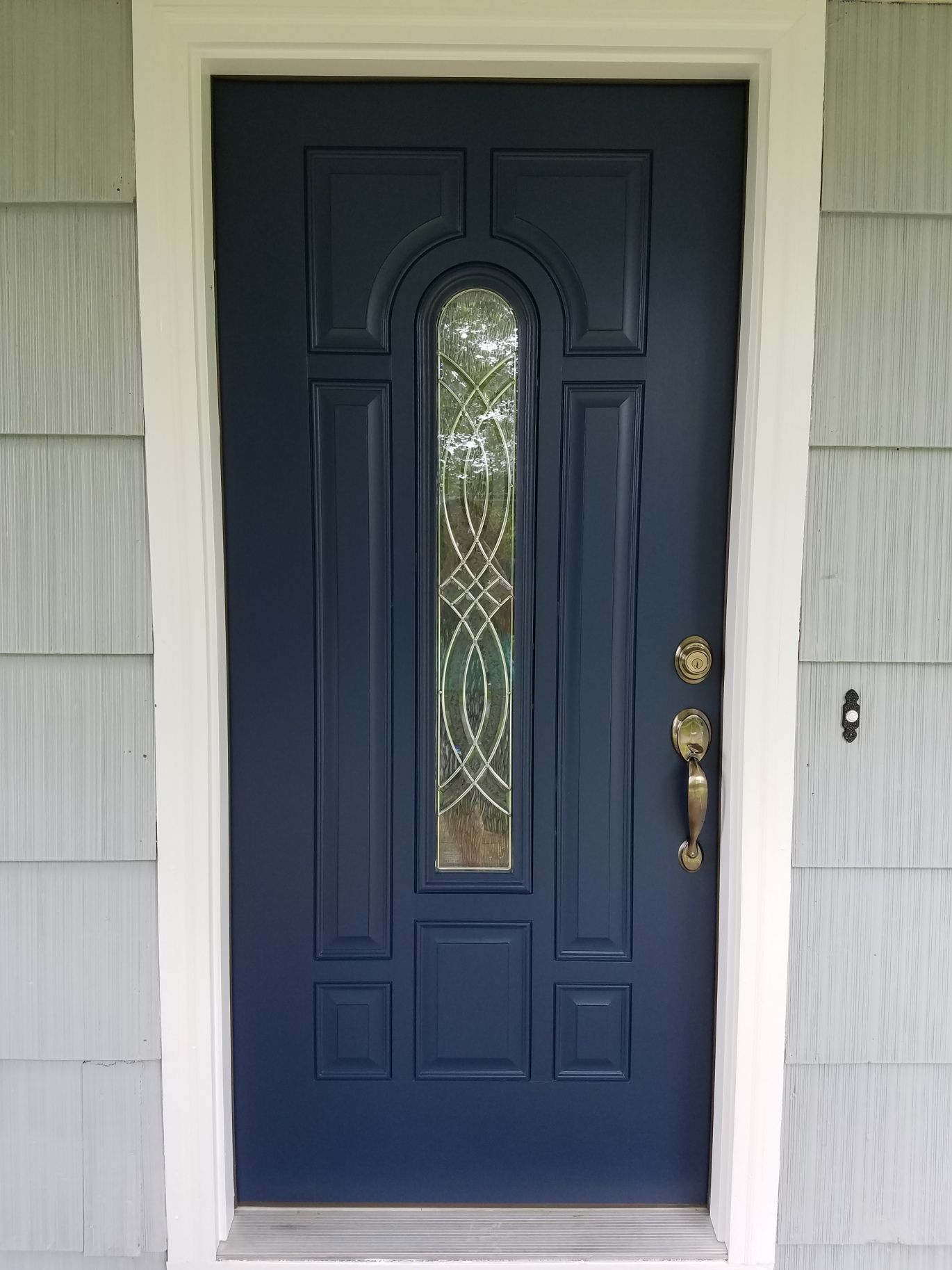 Doors Medium And Ideas: Gorgeous Blue Color For A Front Door And Great Ideas For A