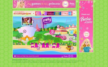 the old polly pocket website i will say it again why oh why did