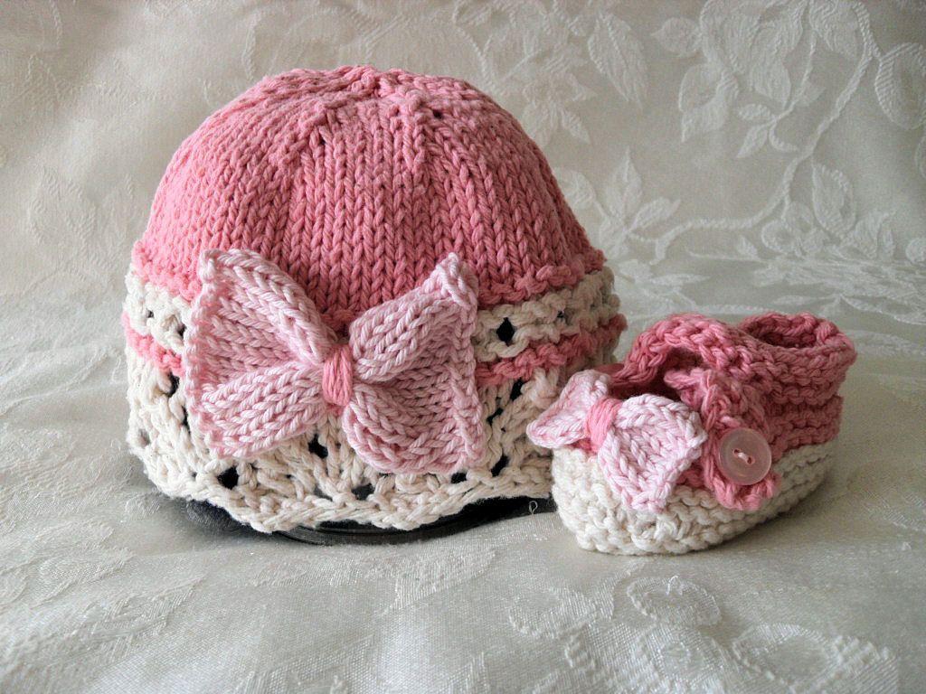 Sombrero hecho punto del bebé bebé de punto sombrero Cloche de ...