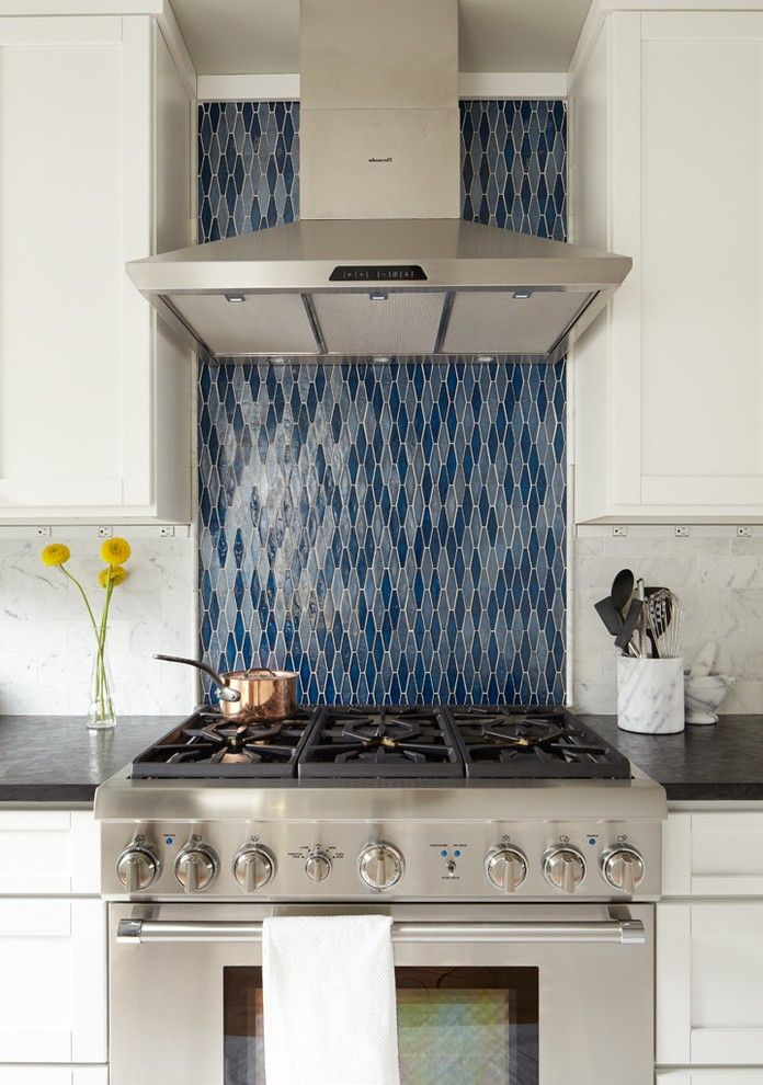Astonishing Ann Sacks Glass Tile Backsplash With Galley Kitchen Delectable Ann Sacks Glass Tile Backsplash Minimalist