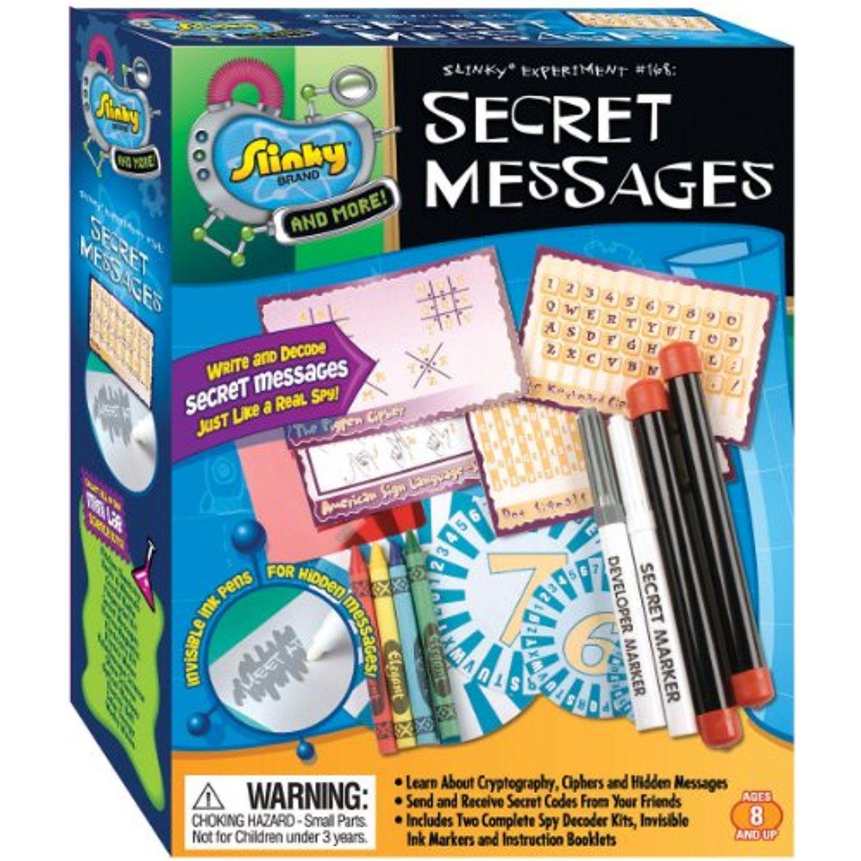 Scientific Explorer Secret Messages Kit Gt Gt Gt Find Out More
