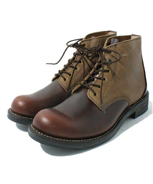 Shoe BAR select(シューバーセレクト)のSUPERB(サパーブ)/302001 WORKBOOTS LACE UP(ブーツ)|ブラウン系その他