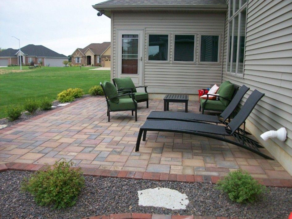 small square paver patio - Google Search | Patio, Concrete ... on Square Concrete Patio Ideas id=68500