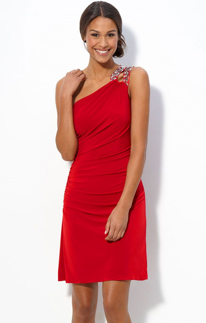 hemsandsleeves.com red cocktail dresses (03) #cutedresses | Dresses ...