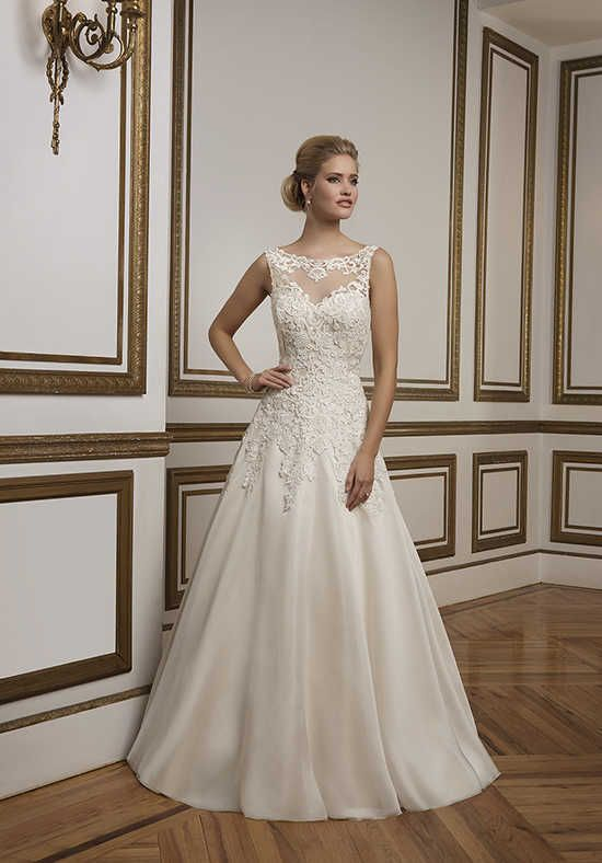 Justin Alexander 8835 A Line Wedding Dress