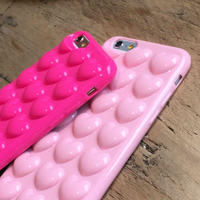 3d heart iphone 6s case
