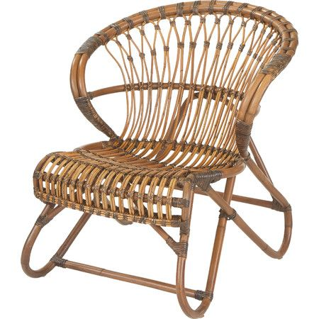 Brazel Bamboo and Wicker Accent Chair at Joss and Main Have a seat - sillas de playa