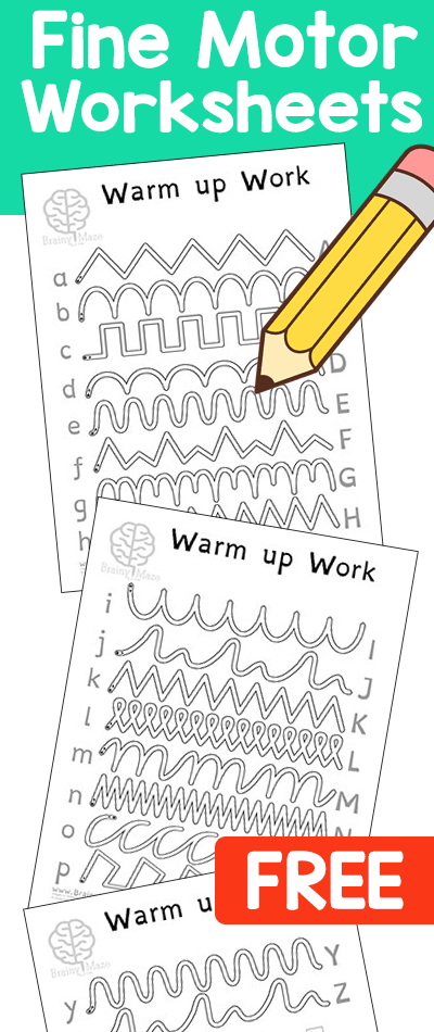 My Kids Love These Free Pencil Control Worksheets Perfect For