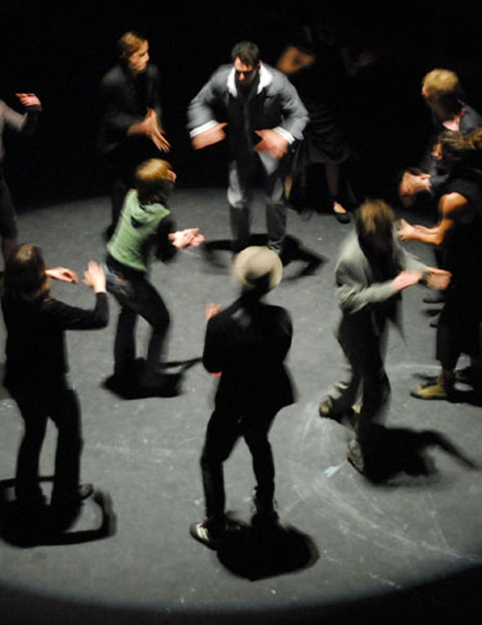 Physical body percussion - great as a warm-up tool or icebreaker to get everyone engaged! www.corporatebash.co.uk