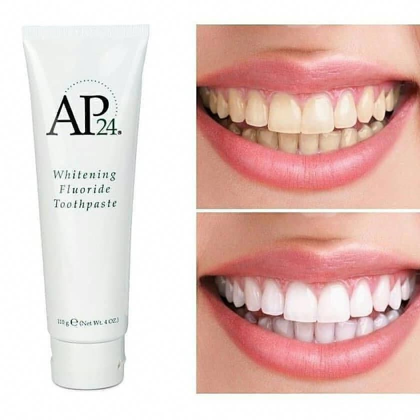 Ap24 Whitening Fluoride Toothpaste By Nu Skin Pasta Gigi Yang