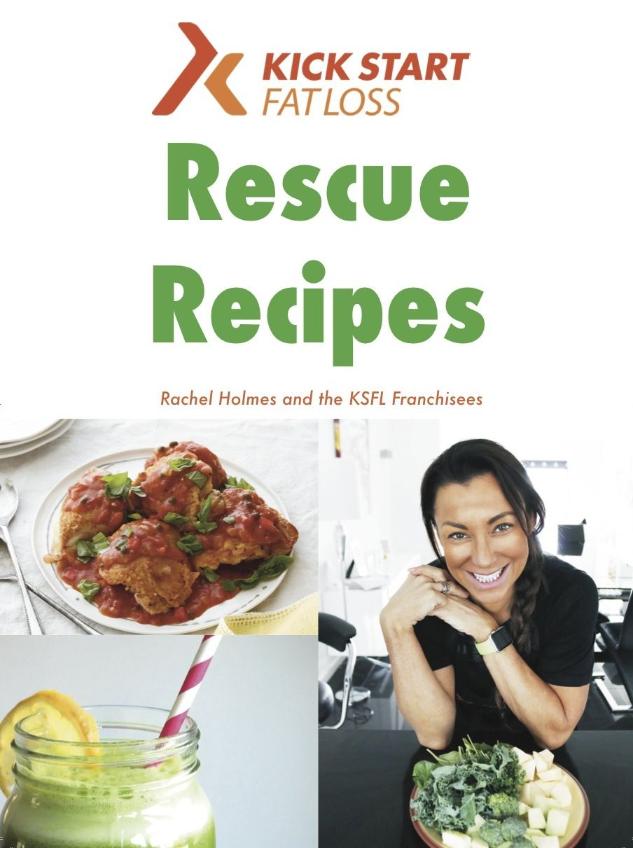 Rescue recipes cook book clean eating recipes and fat rescue recipes cook book kick start fat loss eating habitsclean forumfinder Images