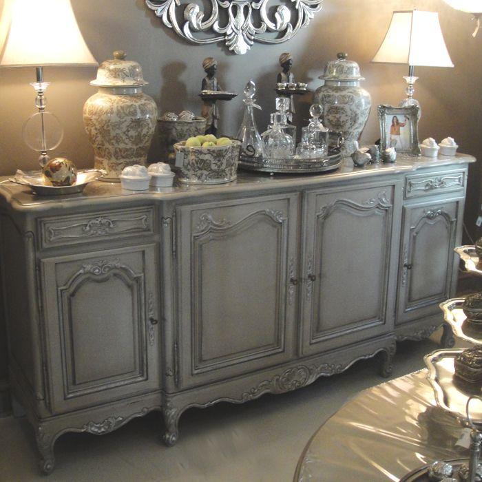 Furniture Home Decor: French Oak Sideboard, Antique