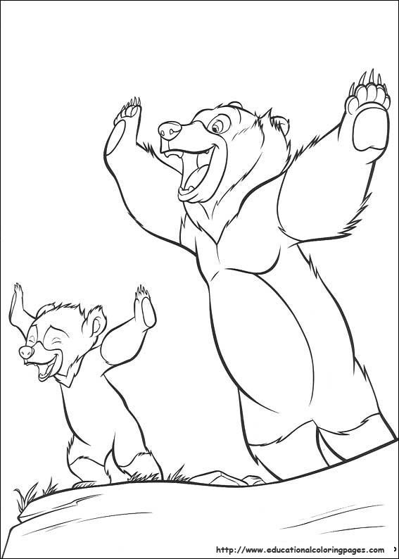 brother bear - (educationalcoloringpages) | coloring pages 2 ... - Brother Bear Moose Coloring Pages