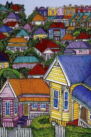 Heaven is Home by Fiona Whyte for Sale - New Zealand Art Prints
