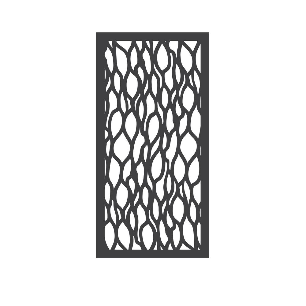 Outdeco 5 16 In X 24 In X 48 In Leafstream Modular Decorative Panel Usadsls1 The Home Depot Decorative Panels Fence Panels Garden Fence Panels