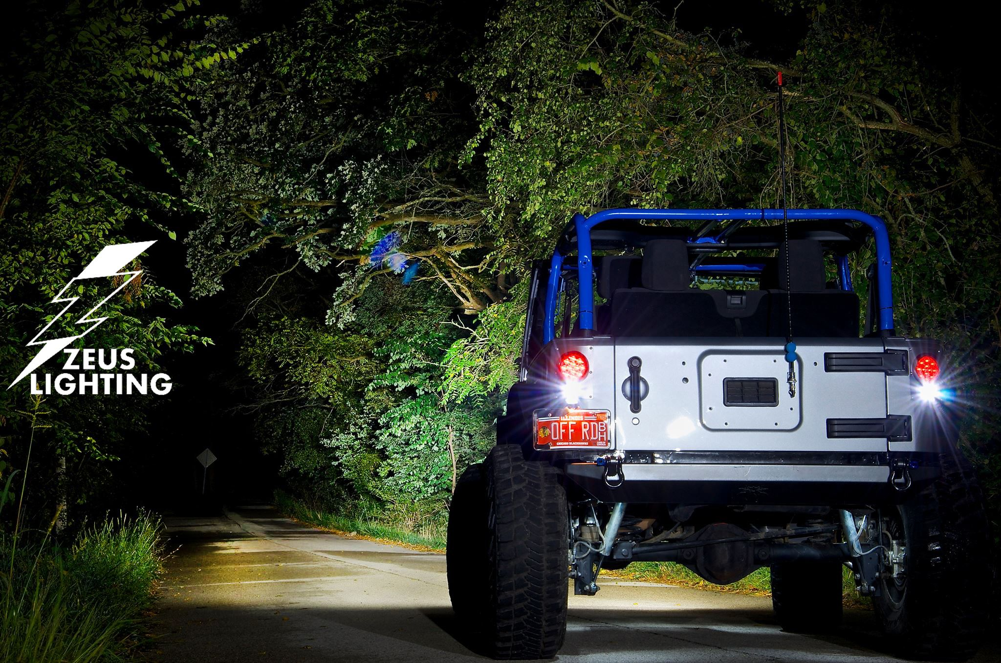 Zeus Offroad Lighting Only Available From Olympus Offroad Olympusoffroad Jeep Wrangler Led Lightbar Ledlightbar Offroad Lighting Jeep Monster Trucks