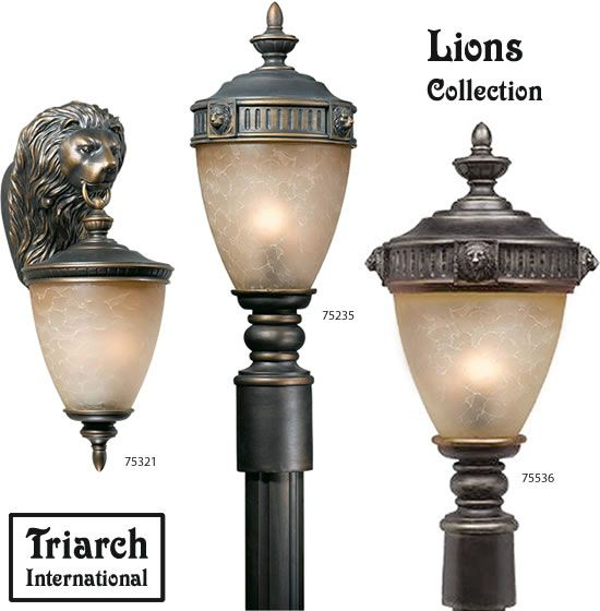 Triarch International 75321 75235 75536 Exterior Lanterns