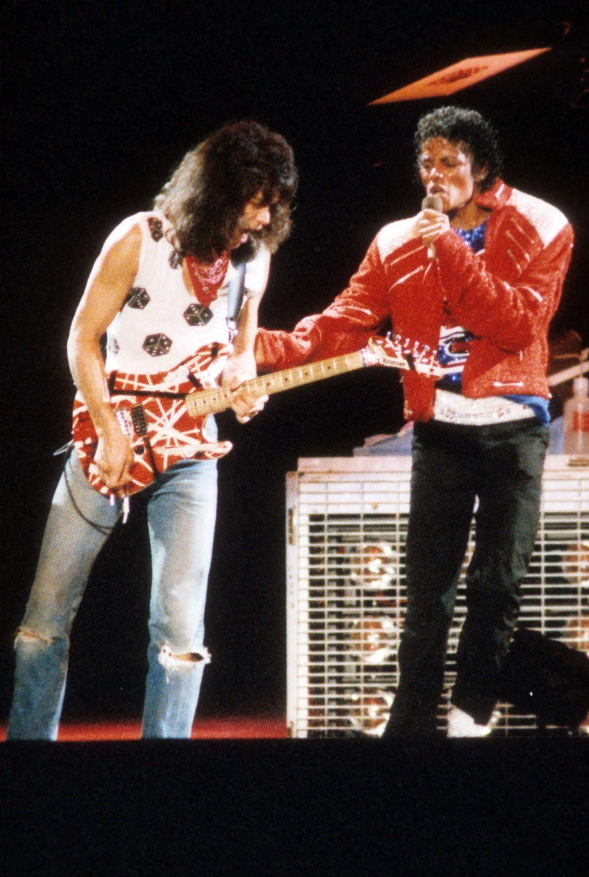 90 Beat It Eddie Van Halen Michael Jackson Van Halen Michael Jackson Live Eddie Van Halen