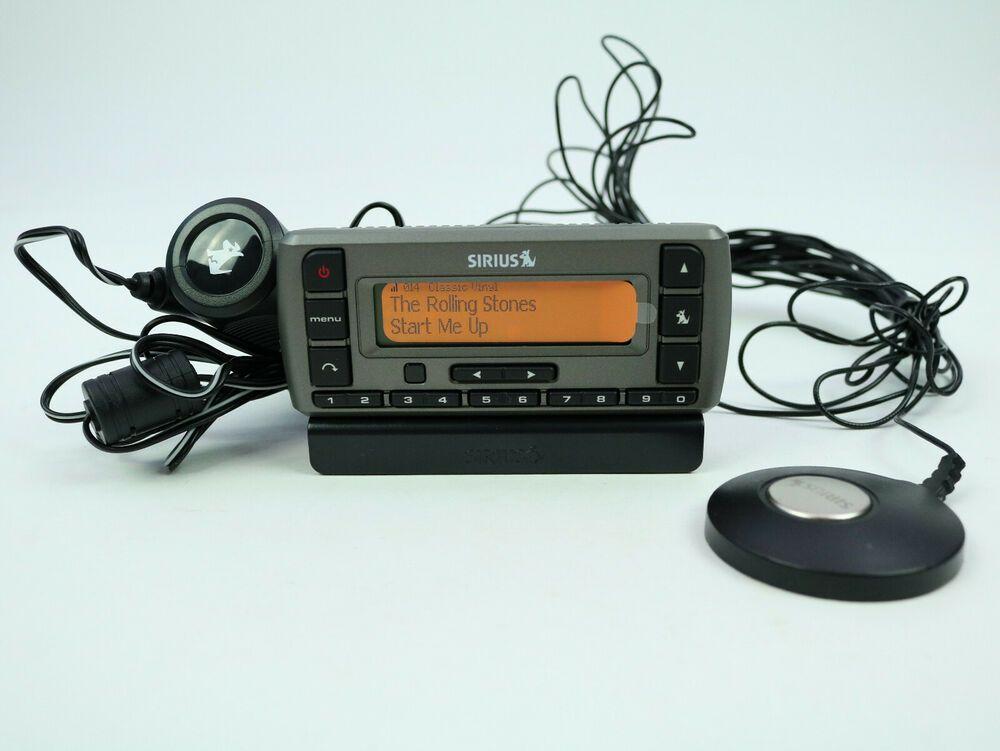 7f0f0138a33 Sirius Stratus 3 Satellite Radio SV3R - Car charger - Antenna - No  Subscription #Sirius