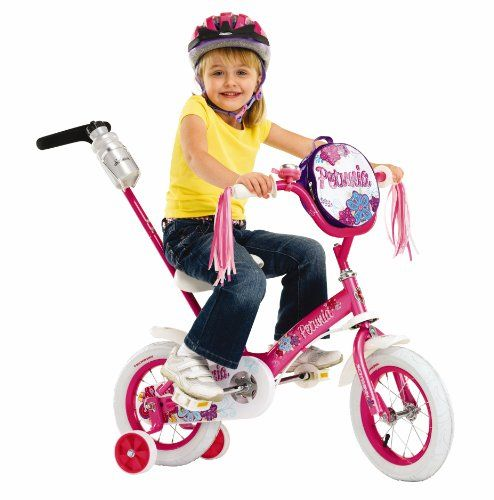 Schwinn Girls Petunia 12 Inch Steerable Bike Schwinn Http Www Amazon Com Dp B0054sfsdm Ref Cm Sw R Pi Kids Bike Childrens Bicycle Bike With Training Wheels