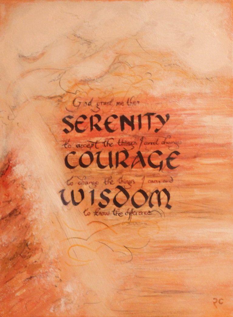 Serenity Prayer by RobCurley