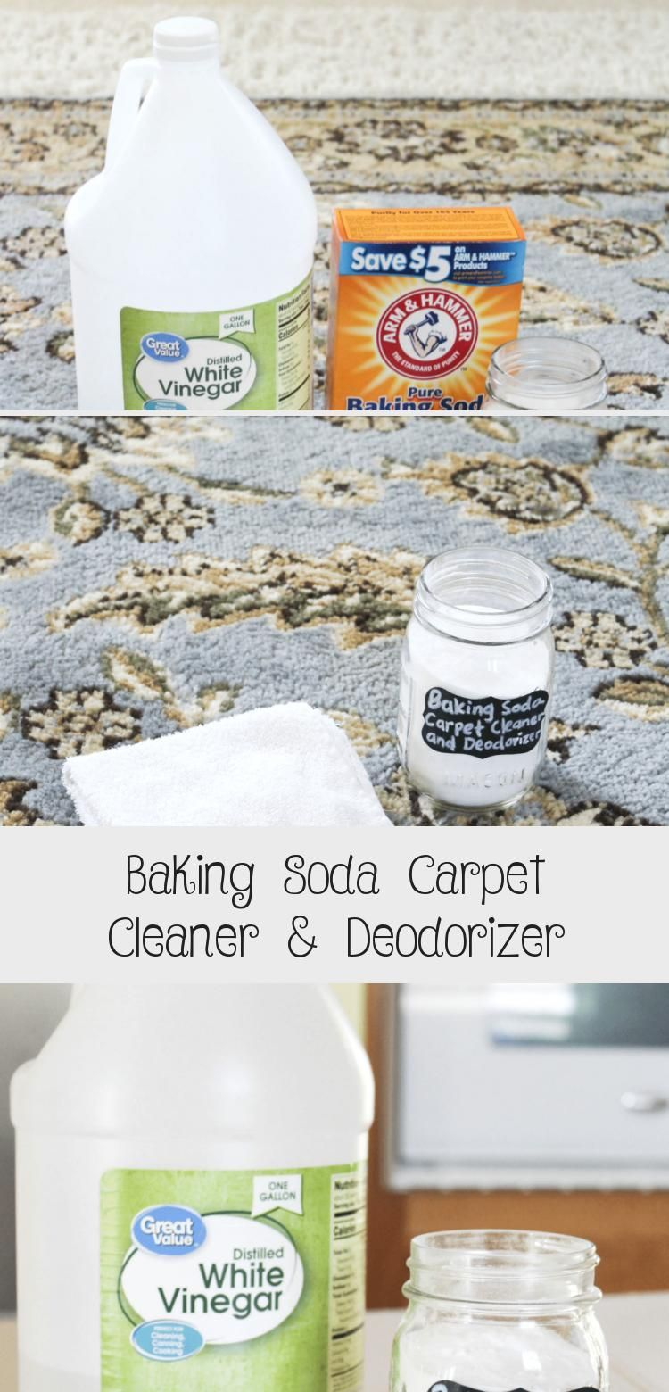 How To Clean And Deodorizer Your Carpet With Baking Soda Clean Naturally With B How T Baking Soda On Carpet Baking Soda Cleaning Natural Cleaning Products