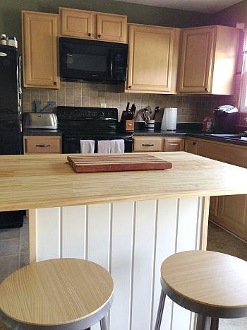 Seven Town Way Kitchen Island Creation Custom Kitchen Cabinets Unfinished Kitchen Cabinets Unfinished Cabinets