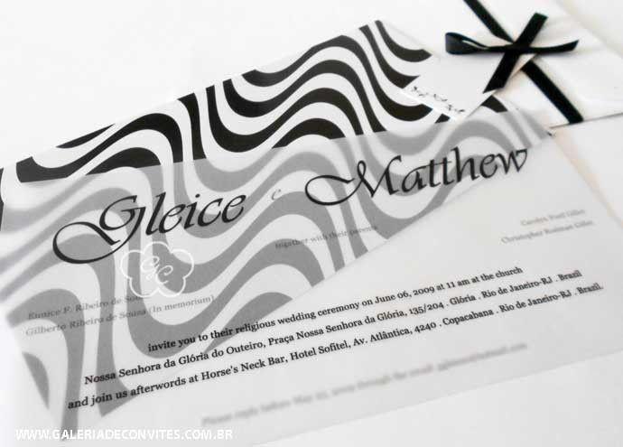 Convite calçadão Copacabana | Galeria de Convites