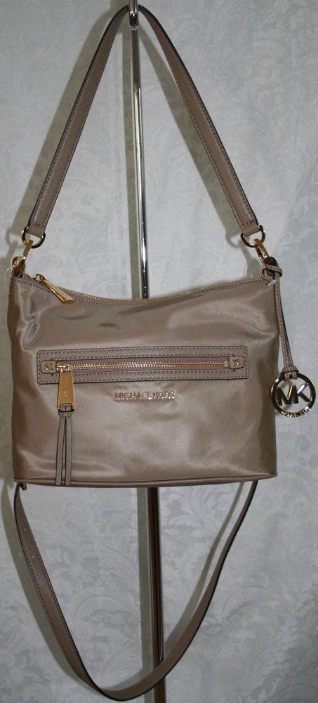 47ebc258f3504e MICHAEL KORS RHEA ZIP MEDIUM CONVERTIBLE SHOULDER BAG DUSK 30S5GEZL6C NYLON  in Handbags & Purses | eBay