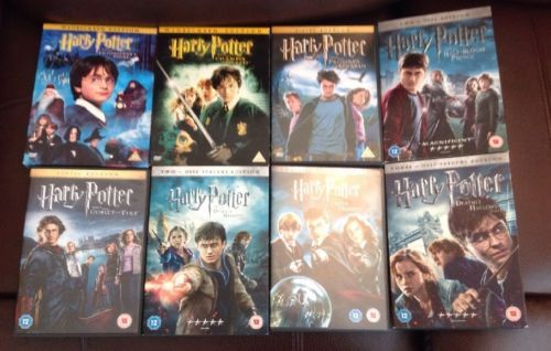 #Harry #potter complete dvd film #collection - 1-8 many 2 disc set 15 dvds in tot,  View more on the LINK: http://www.zeppy.io/product/gb/2/252392589954/