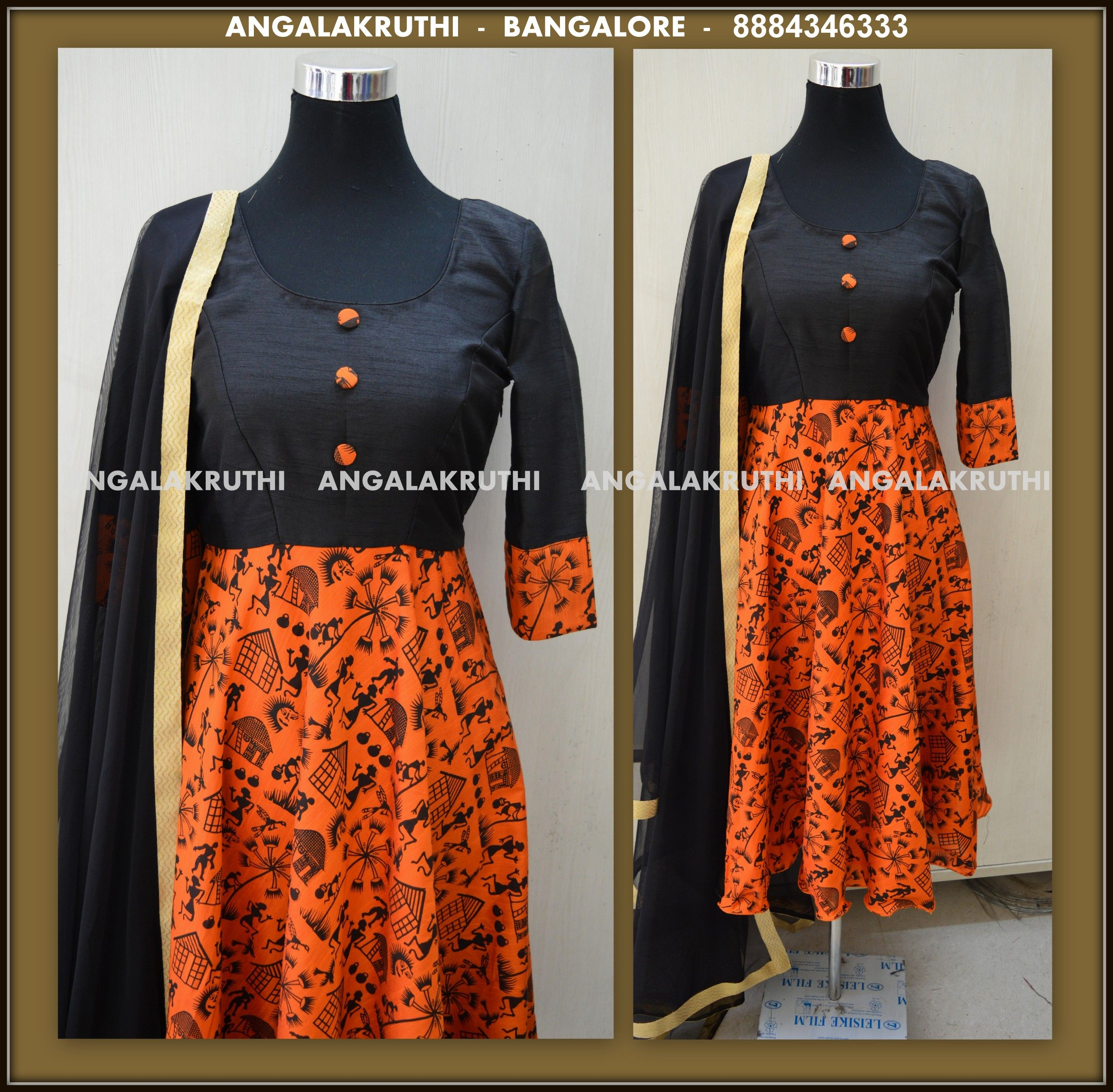 Kurti Designs By Angalakruthi Ladies And Kids Designer Boutique In Bangalore Indian Designer Outfits Salwar Designs Clothes Design