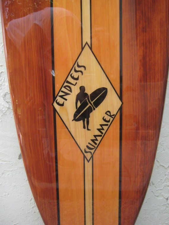 Decorative Wooden Surfboard Wall Art for a Hotel, Restaurant, Island ...