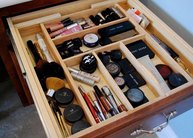 Organizzare I Cassetti Del Bagno : Katech pezzi di organizzatori valigetta di plastica scrivania