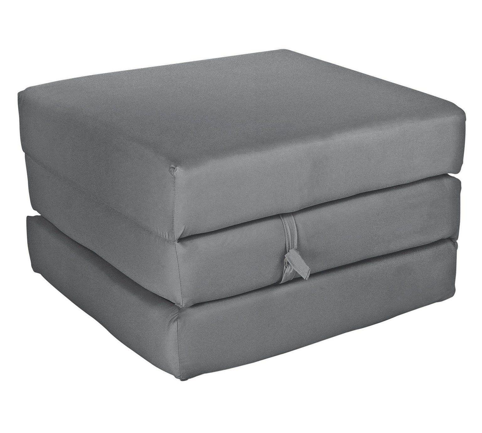 Buy Argos Home Single Mattress Cube Flint Grey Sofa