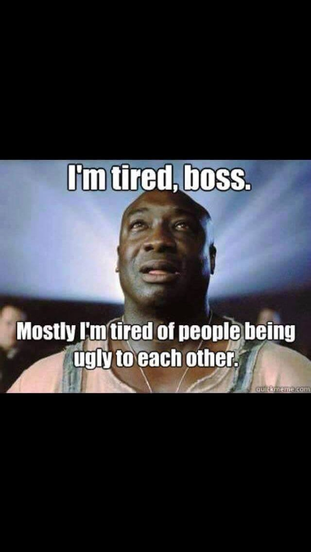 Tired Boss Meme : tired, Tired