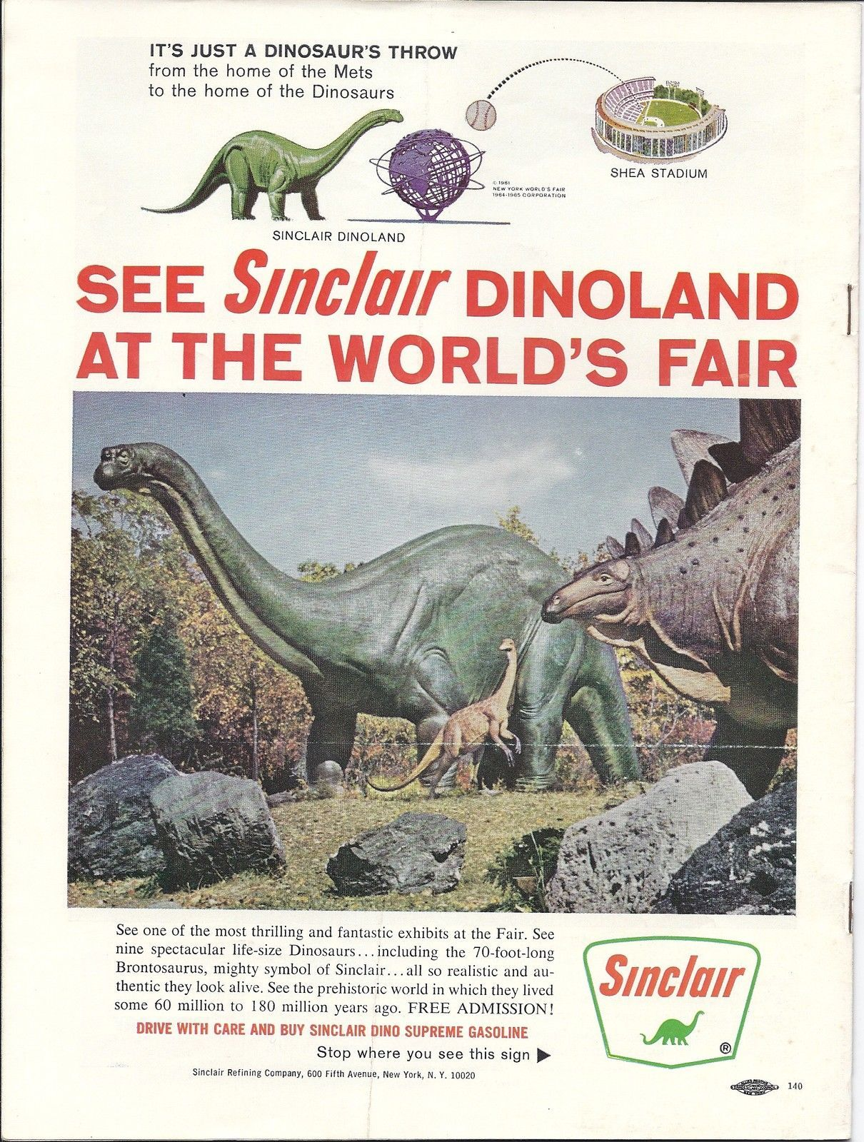 104.276: The Exciting World of Dinosaurs   Sinclair Dinoland   New ...
