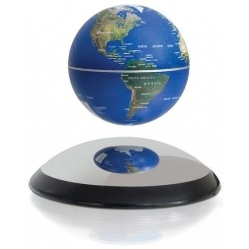 Electromagnetic Floating Globe Home Office Desk Science Educational  Fascinations #Fascinations