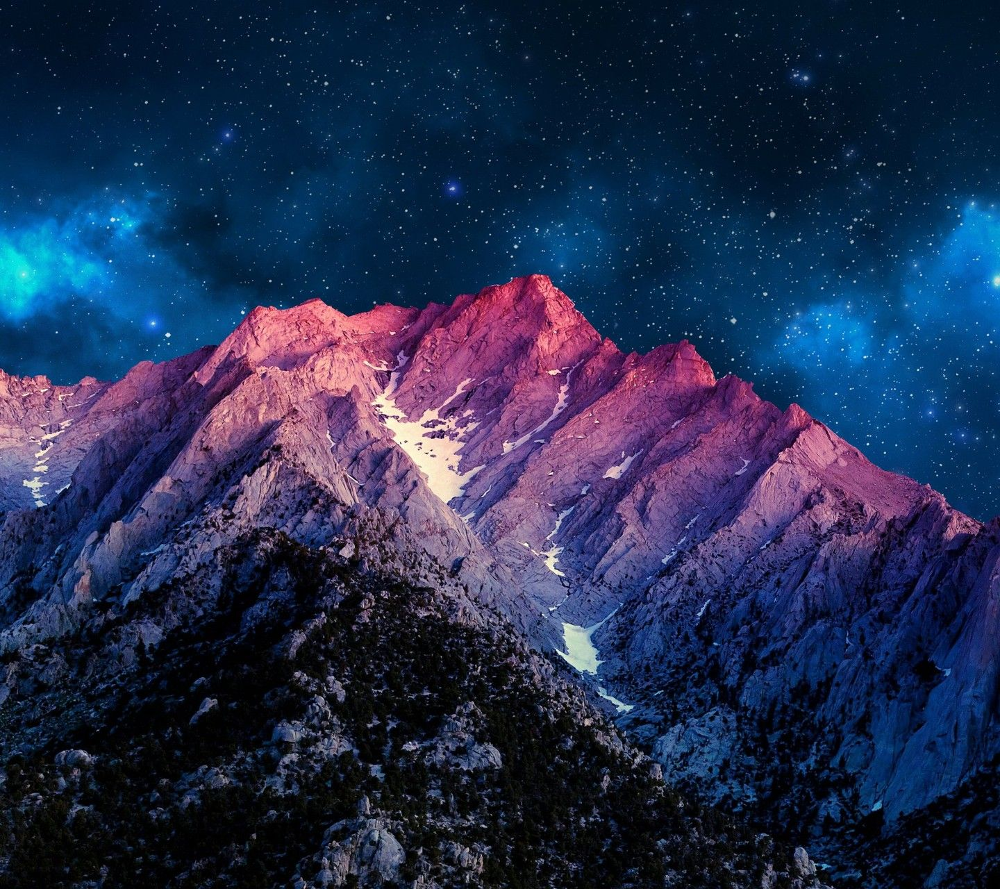 Colorful Sky And Mountains - OGQ Backgrounds HD
