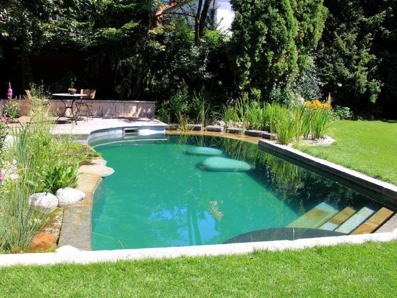Schwimmteich Selber Bauen 13 Marchenhafte Gestaltungsideen 8211 Garten Pooldesign 8211 Zenideen Schwimmteich Selber Bauen Hintergarten Schwimmteich