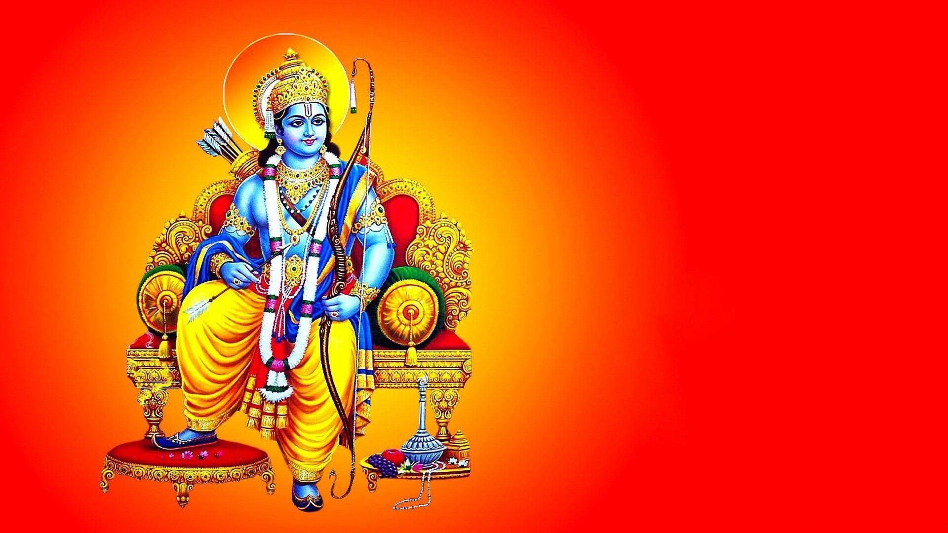 Hindu Gods And Goddesses Lord Rama Ram Navami Images Happy Ram Navami Hindu Gods