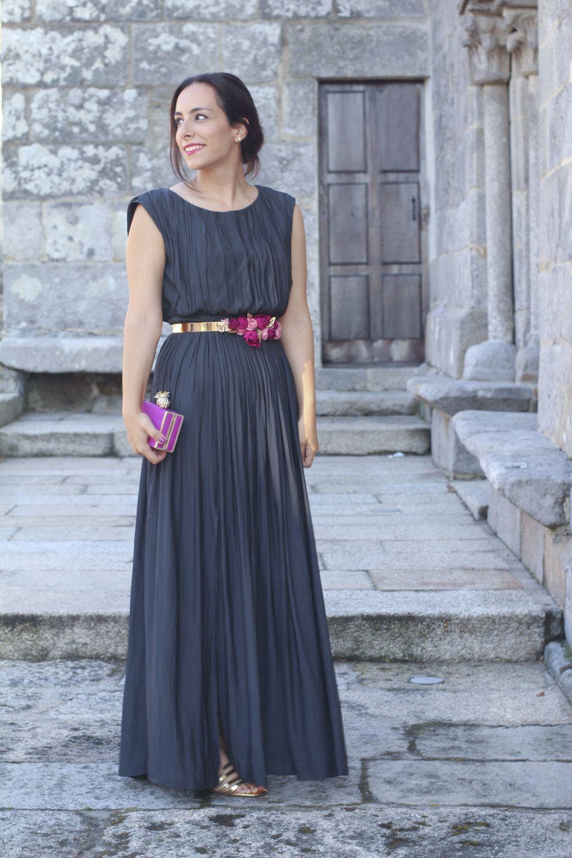 Promoción de ventas estilo exquisito Precio al por mayor 2019 Look invitada perfecta. Vestido plisado. Invitada boda. Look ...