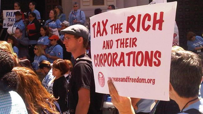 There are actually thousands of tax breaks and subsidies for the rich and corporations provided by federal, state and local governments.
