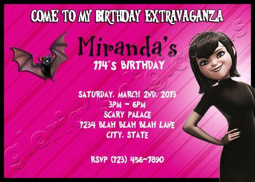 Hotel Transylvania Birthday Party Google Search Mavis