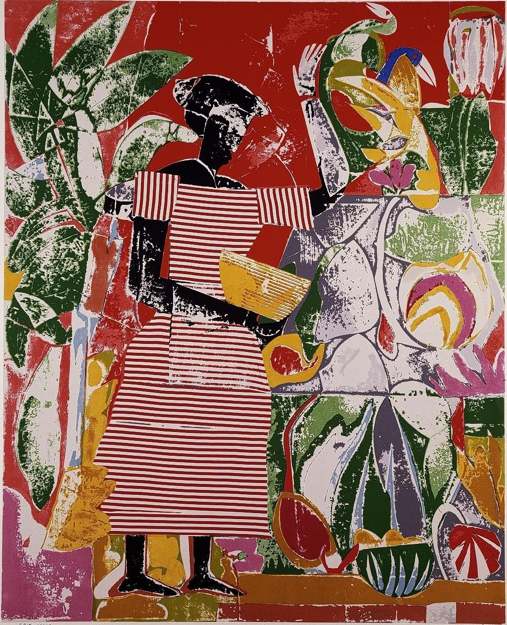 romare bearden Romare howard bearden, caricaturist, painter and songwriter, studied from 1932 to 1937 in new york among others under george grosz at the art students league.