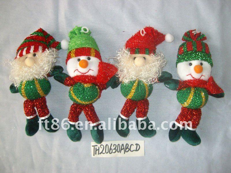 Navidad manualidades de fieltro artesan as artificiales for Navidad adornos manualidades navidenas